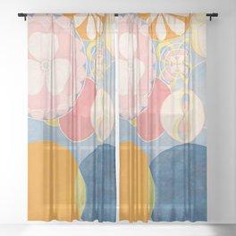 Hilma af Klint - The Ten Largest No. 2 Childhood Sheer Curtain
