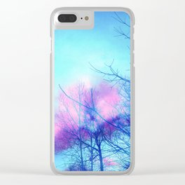 Listening to the Wind Clear iPhone Case