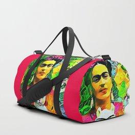 Frida's Cat Duffle Bag