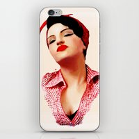 rockabilly iPhone & iPod Skins featuring Rockabilly Love by SoulDeep