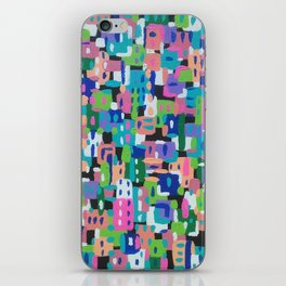 City View by Night iPhone Skin