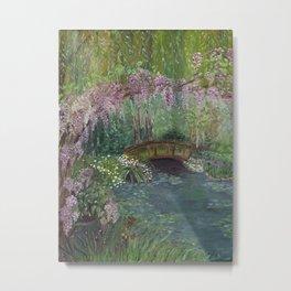 The Garden Metal Print