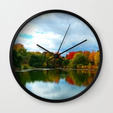 Cloudy Sky Wall Clock