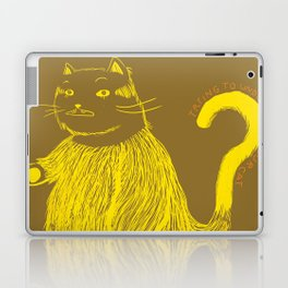 Trying to understand our cat Laptop & iPad Skin