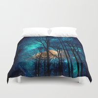 starry night Duvet Covers featuring starry night by haroulita