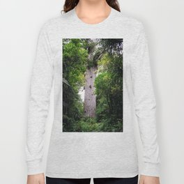 The World's Oldest Wood, Ancient Kauri Long Sleeve T-shirt