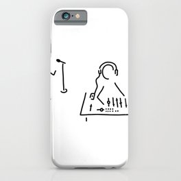 sound engineer studio admission mixing writing desk iPhone Case