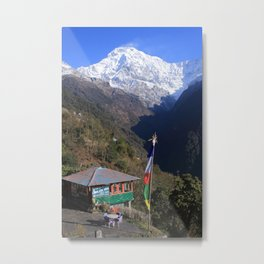 Annapurna South, Himalayas, Nepal Metal Print