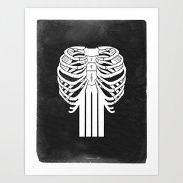 PUNISHER SKULL Art Print