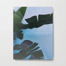 Hueneme Blue Metal Print