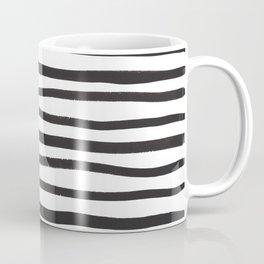 brushstroke stripes Coffee Mug