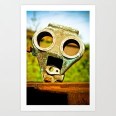 Billy Bot Art Print