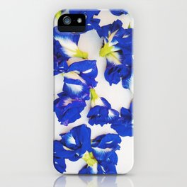 Pea Flower iPhone Case