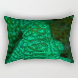 Flourescent mountaintop Rectangular Pillow