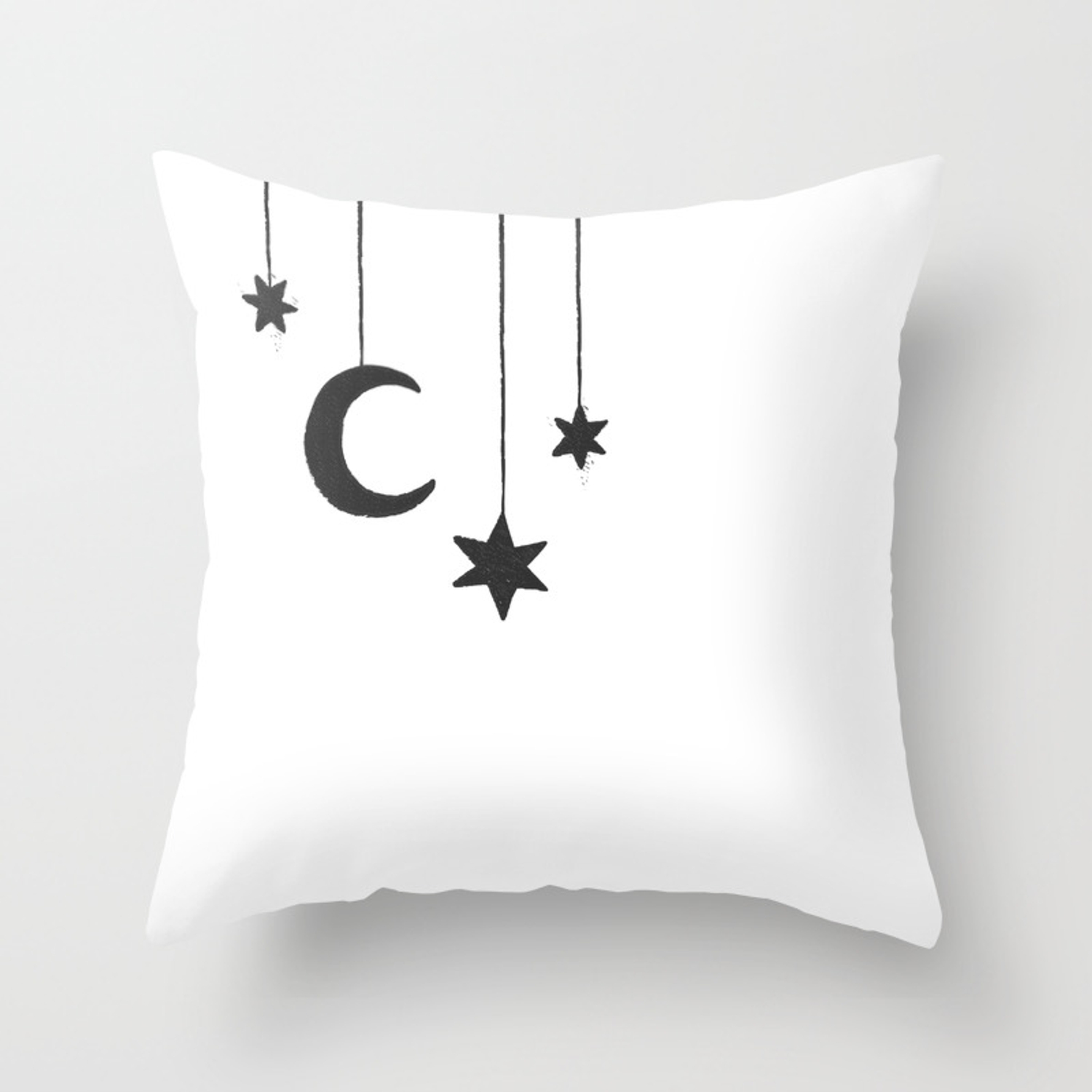 Moon The Stars Throw Pillow By Mujide Society6