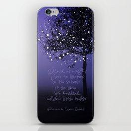 A MILLION STARS iPhone Skin