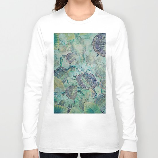 Watery Whimsy Long Sleeve T-shirt