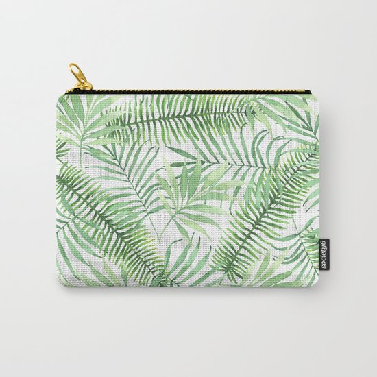 Tropical Branches Pattern 04 Carry-All Pouch