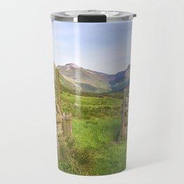 Ben Nevis Mountain Range Travel Mug