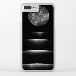 Staircase to the Moon Clear iPhone Case