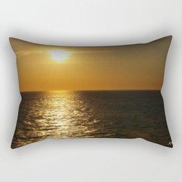 Horizontal Horizon  Rectangular Pillow