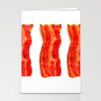 bacon Stationery Cards featuring Bacon by Spotted Heart