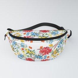 Wildflower Watercolor Fanny Pack