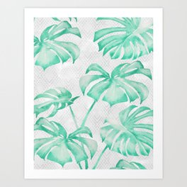 city leaf Art Print