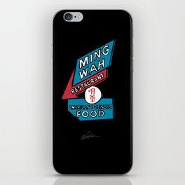 Ming Wah iPhone Skin