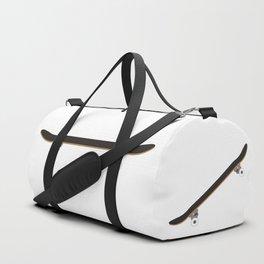 Skateboard Illustration Duffle Bag