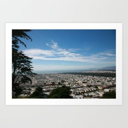 SAN FRANCISCO x CALIFORNIA Art Print