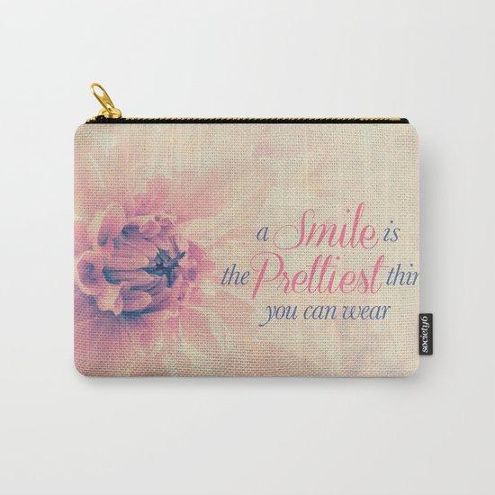 Spring Dahlia I - Her Smile Carry-All Pouch