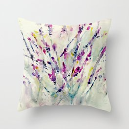 Floral Impression / Meadow Scatter Throw Pillow