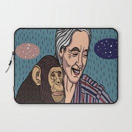 Jane Goodall Laptop Sleeve