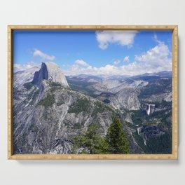 Yosemite Half Dome from Glacier Point Serving Tray