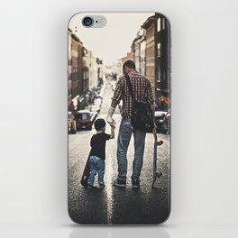 Skateboarders iPhone Skin