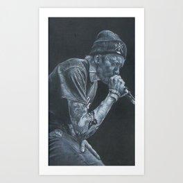 Ben Barlow Portrait Art Print