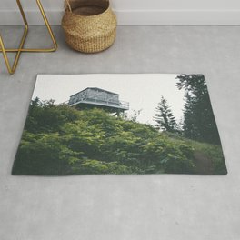 Oregon Fire Lookout Rug