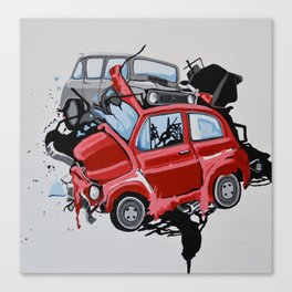 Carsharing Canvas Print