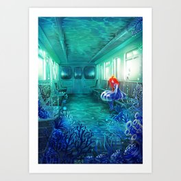 Reflected Memory Art Print
