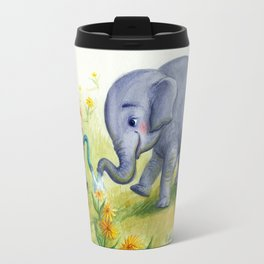 """Elephant Efficiency"" Travel Mug"