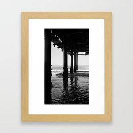 Santa Monica Framed Art Print