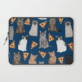 Cats pizza slices food cat lover pet gifts must have cat breeds Laptop Sleeve