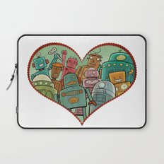 Robot Love Laptop Sleeve