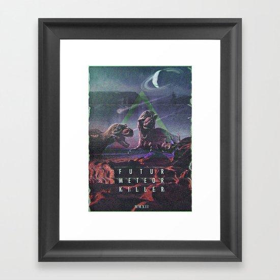 MYSTIC//DINO Framed Art Print