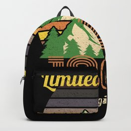 Born in 1969 Limited Edition Birthday Shirt Vintage Sunset Backpack