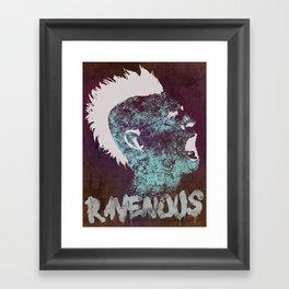 Ravenous Framed Art Print