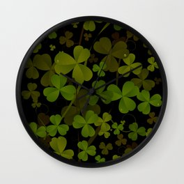 Saint Patrick's Wall Clock