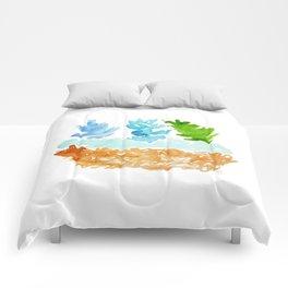 teco verde Comforters