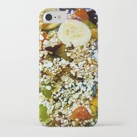 fruits iPhone & iPod Cases featuring Fruits by Mauricio Santana